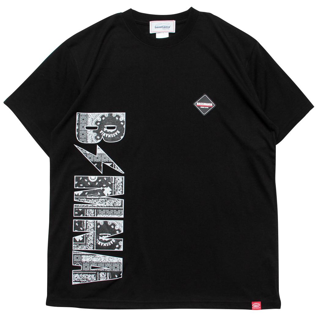 バンダナロゴコットンタッチDRYTシャツ [BLK]