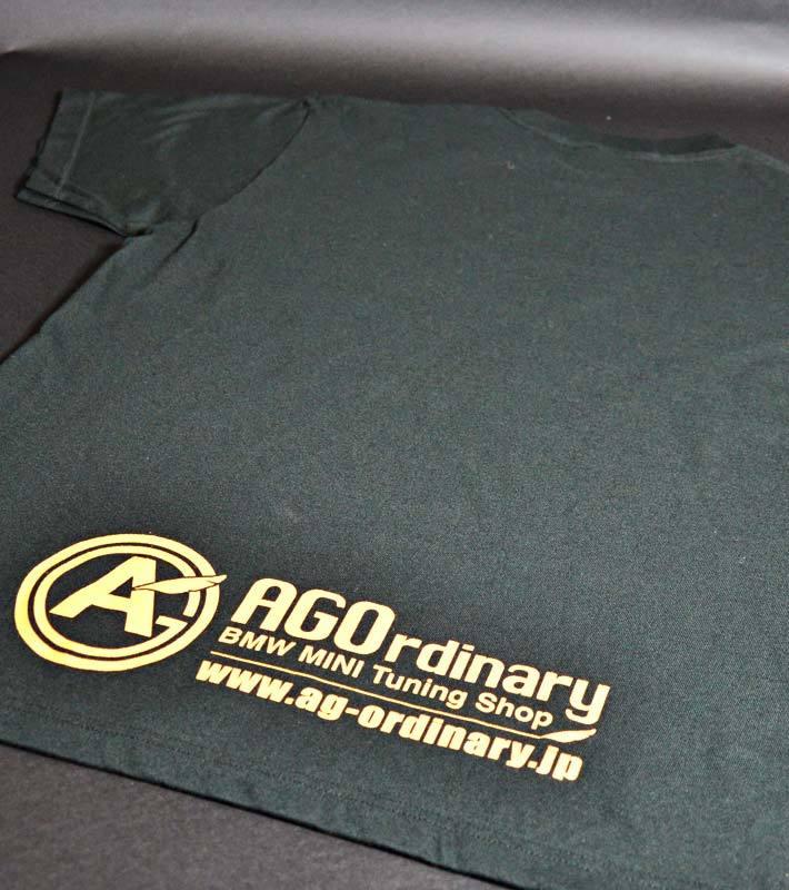 AGOロゴプリント オリジナルTシャツ black - 画像4