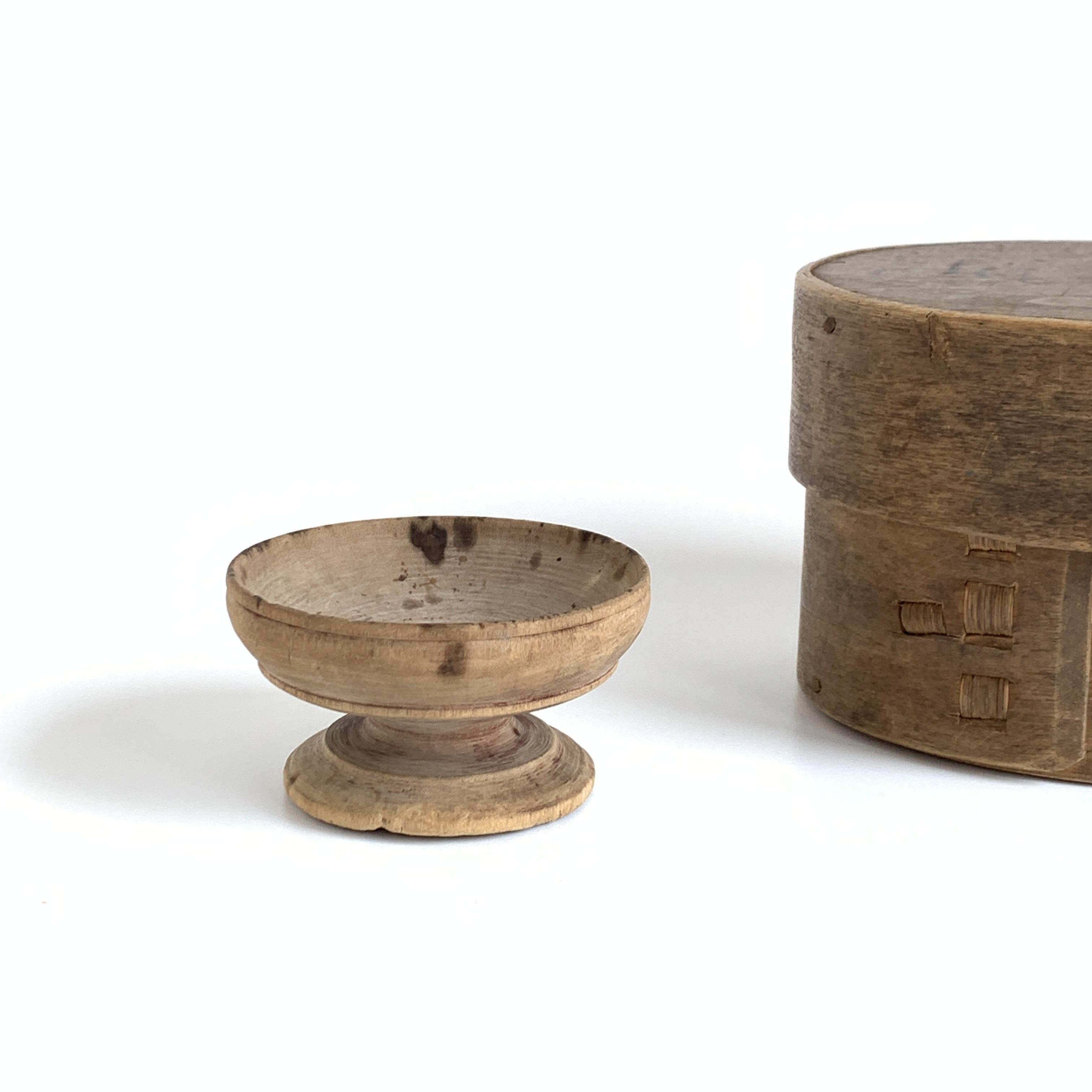 Wooden Salt cup