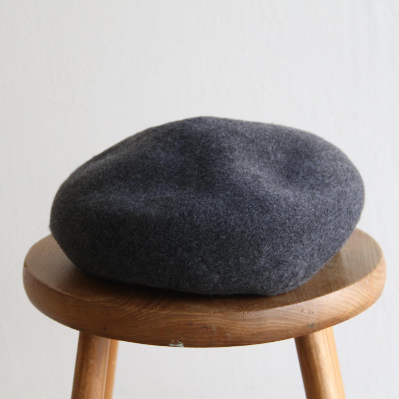 HICOSAKA【 mens 】wool cashmere beret