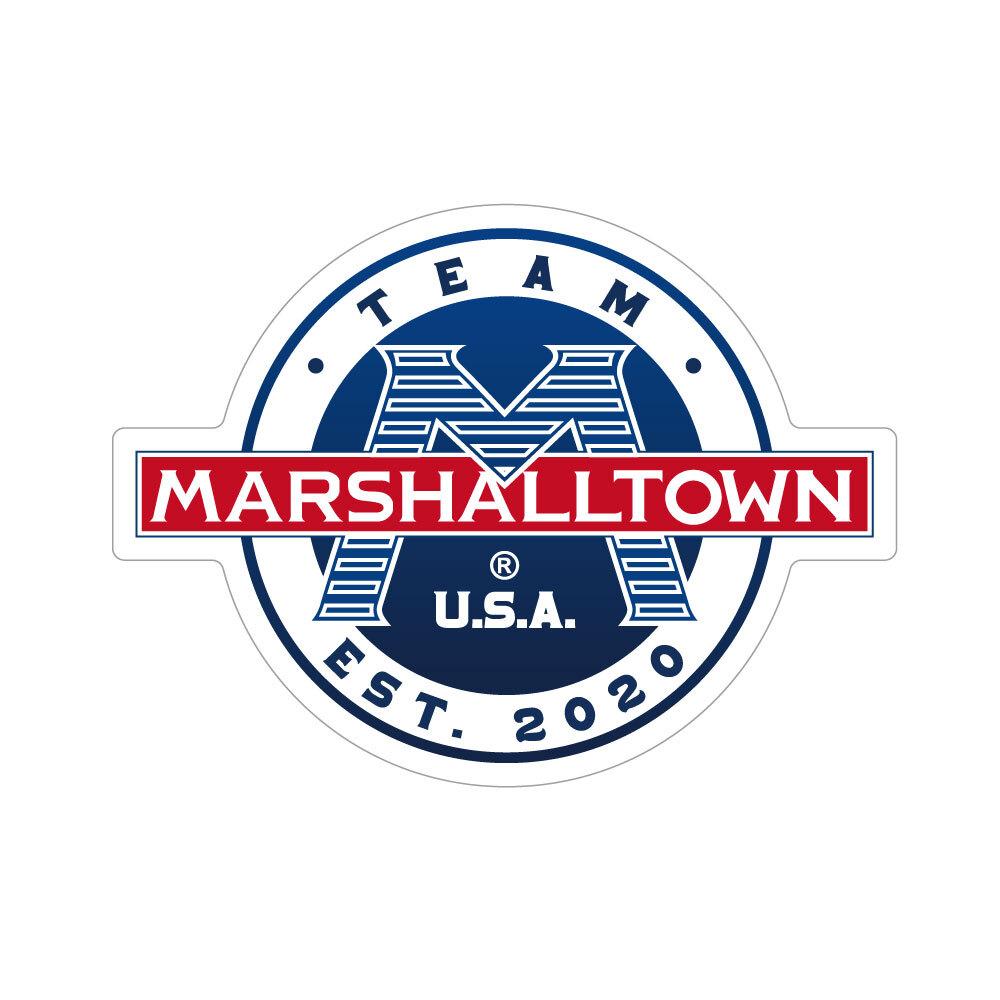"""332 MARSHALLTOWN マーシャルタウン """"California Market Center"""" アメリカンステッカー スーツケース シール"""