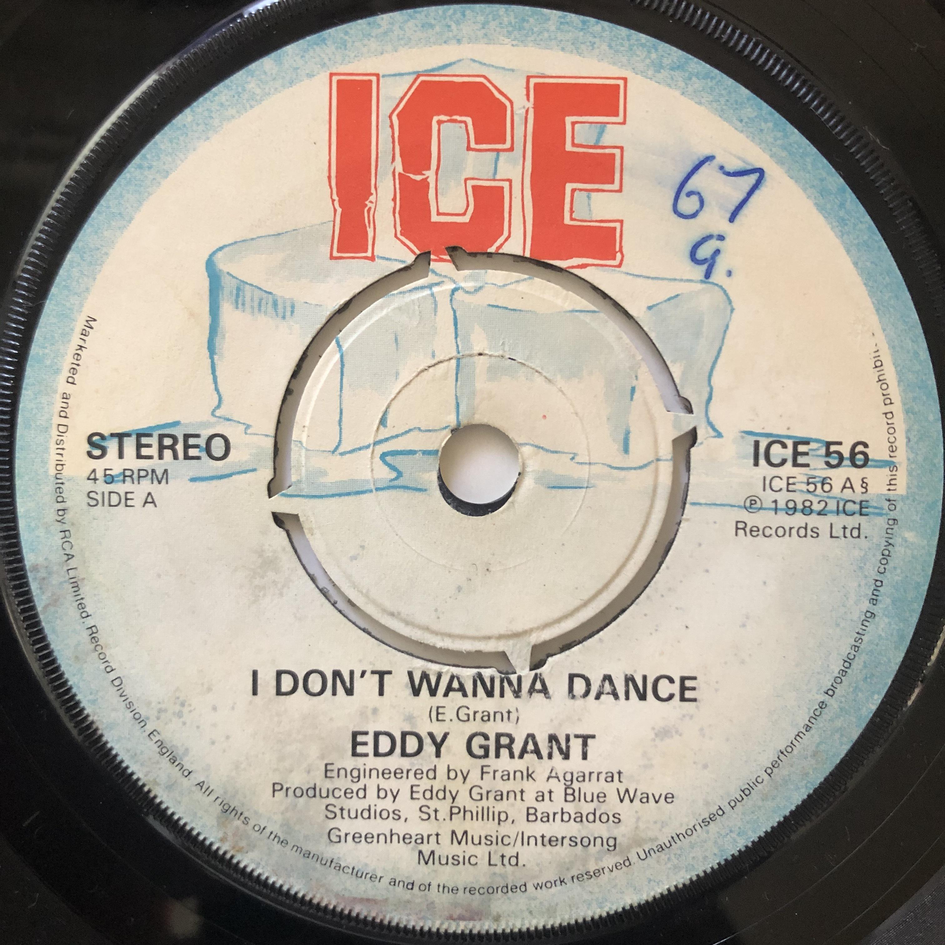 Eddy Grant - I Don't Wanna Dance【7-20648】