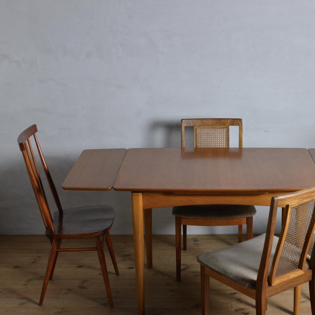 Draw Leaf Table / ドローリーフテーブル〈ダイニングテーブル・伸長式・北欧・モダン・ミッドセンチュリー〉