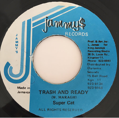 Super Cat(スーパーキャット) - Trash And Ready【7'】