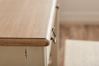 Shabby chic Wood Console Table / シャビーシック アンティークスタイル