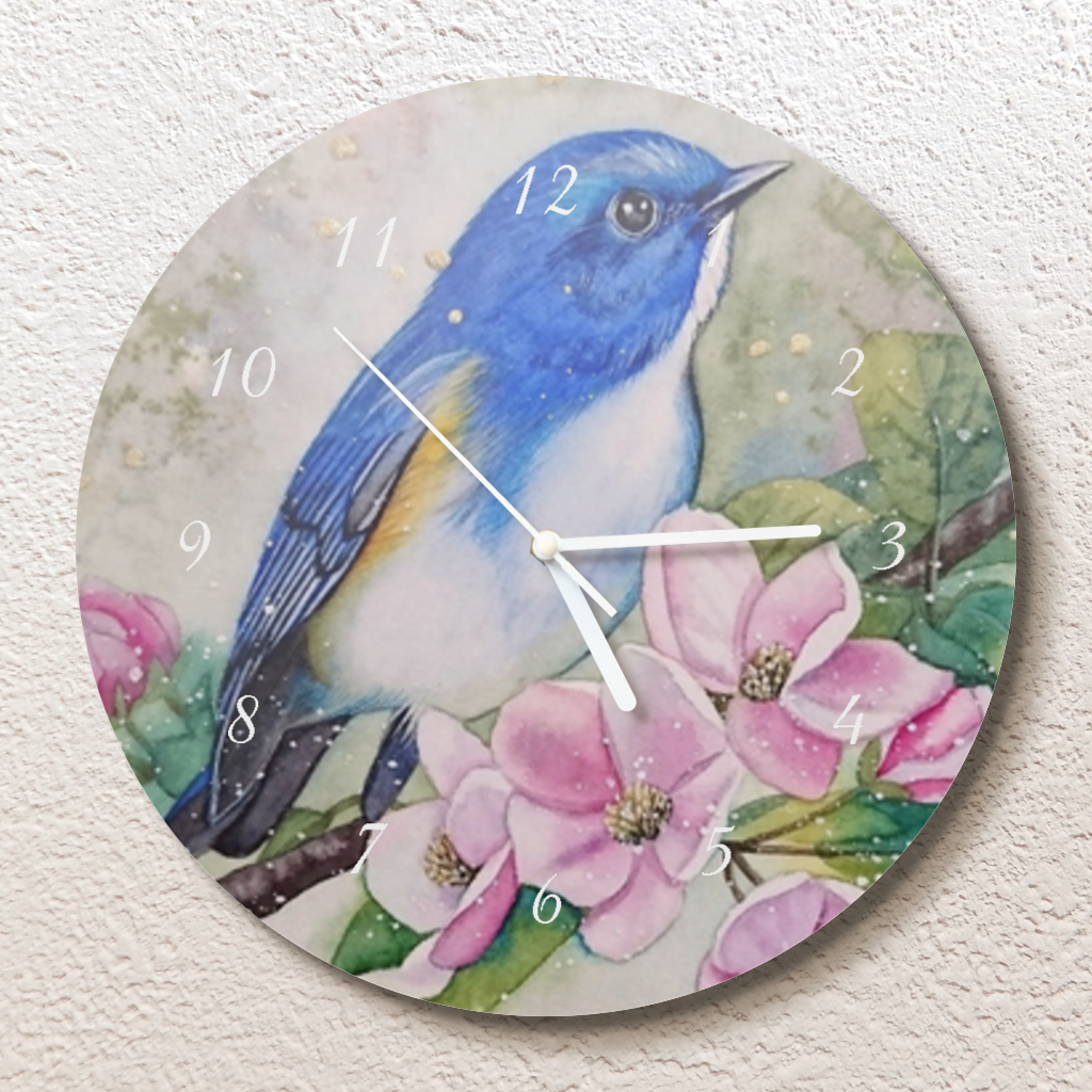 思い出の国 壁掛け時計(L)