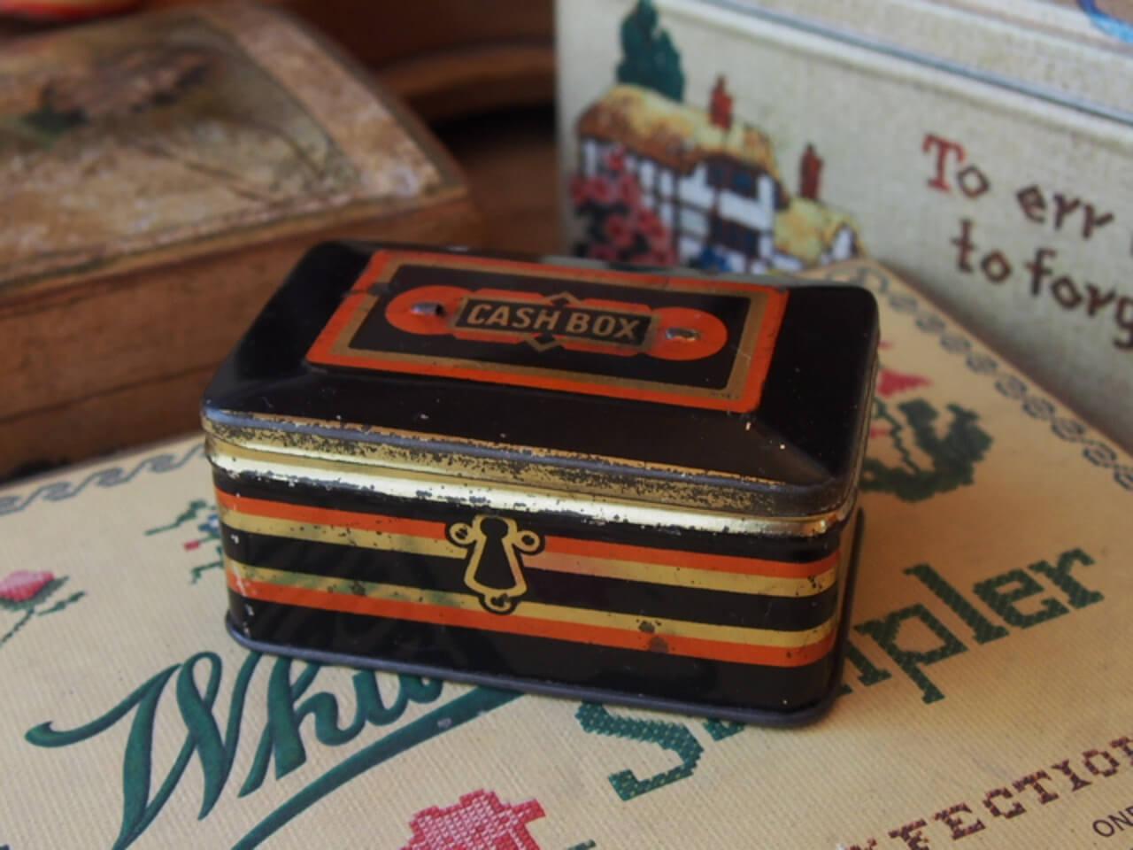イギリスアンティーク CASH BOX
