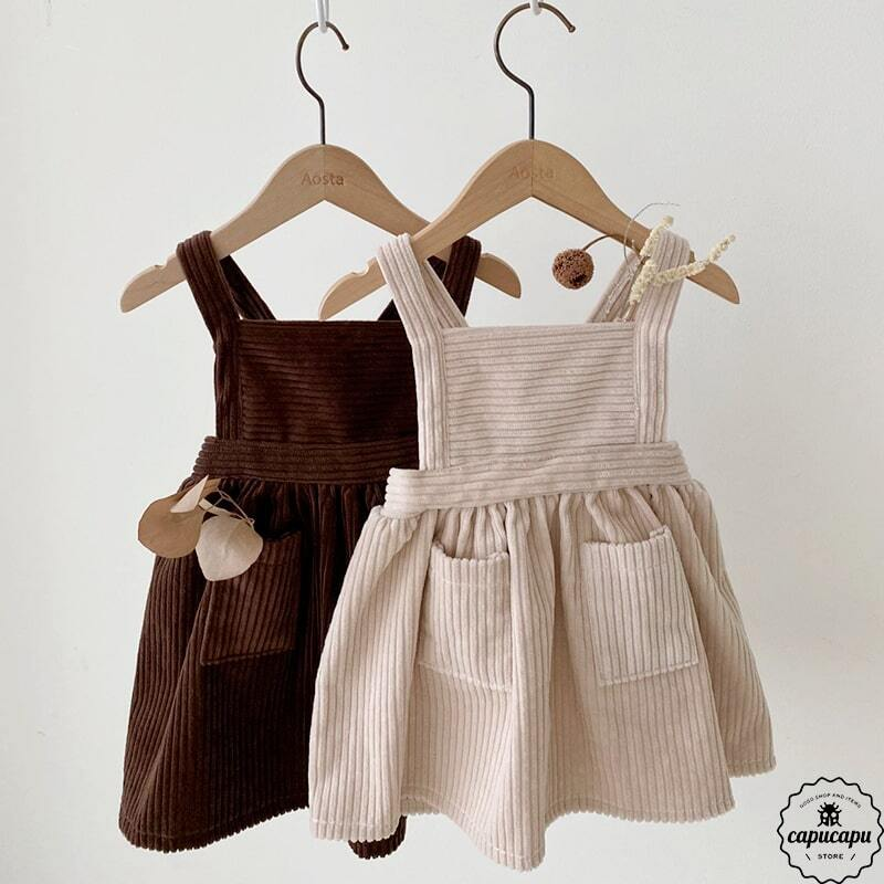 «sold out» corduroy one piece 2colors コーデュロイワンピース