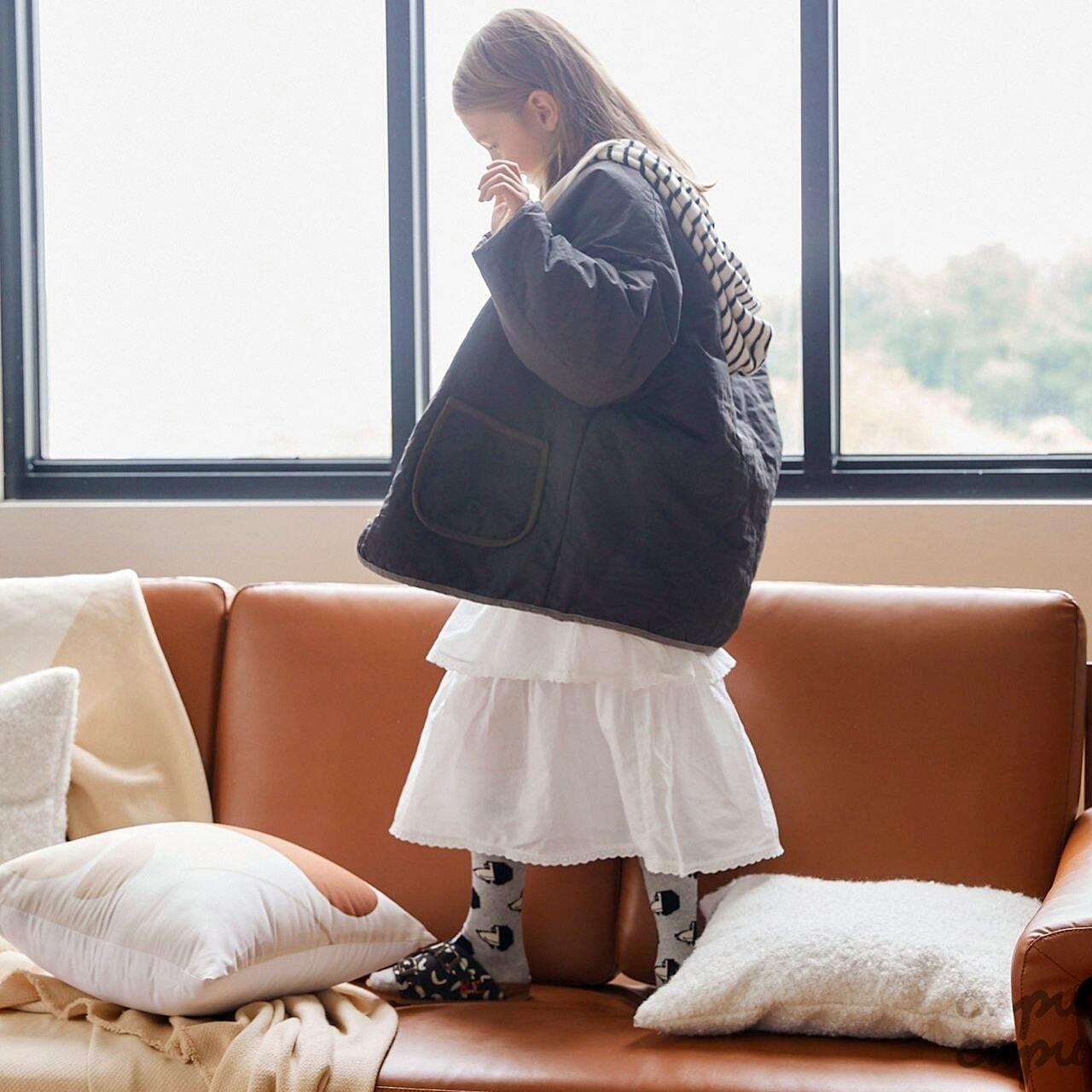 «先行予約割引»«ジュニアサイズあり» jejeunosity quilted jacket 2colors  キルティングジャケット