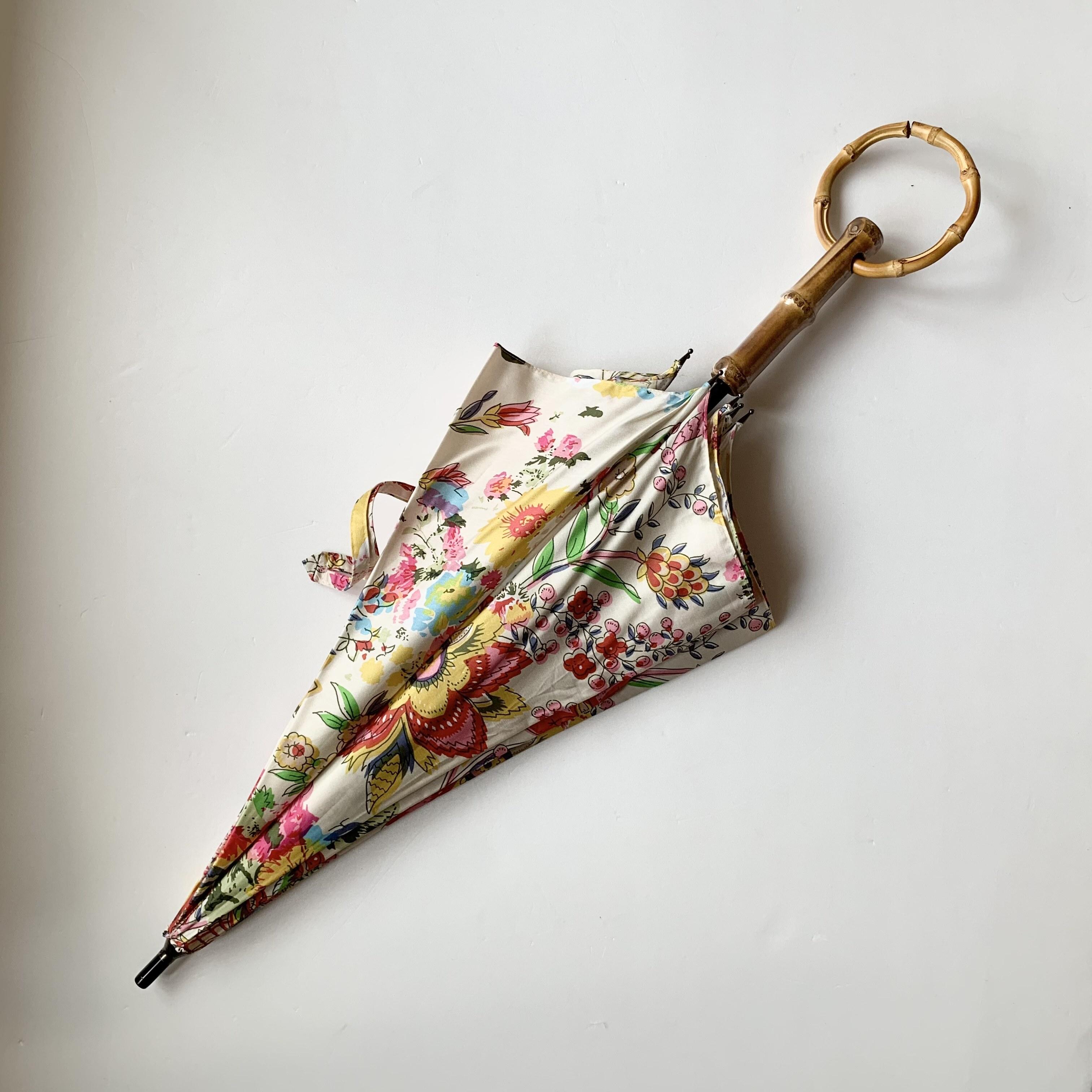 北欧デザイン日傘(晴雨兼用)| ショートタイプ持ち手輪 | tribal dance