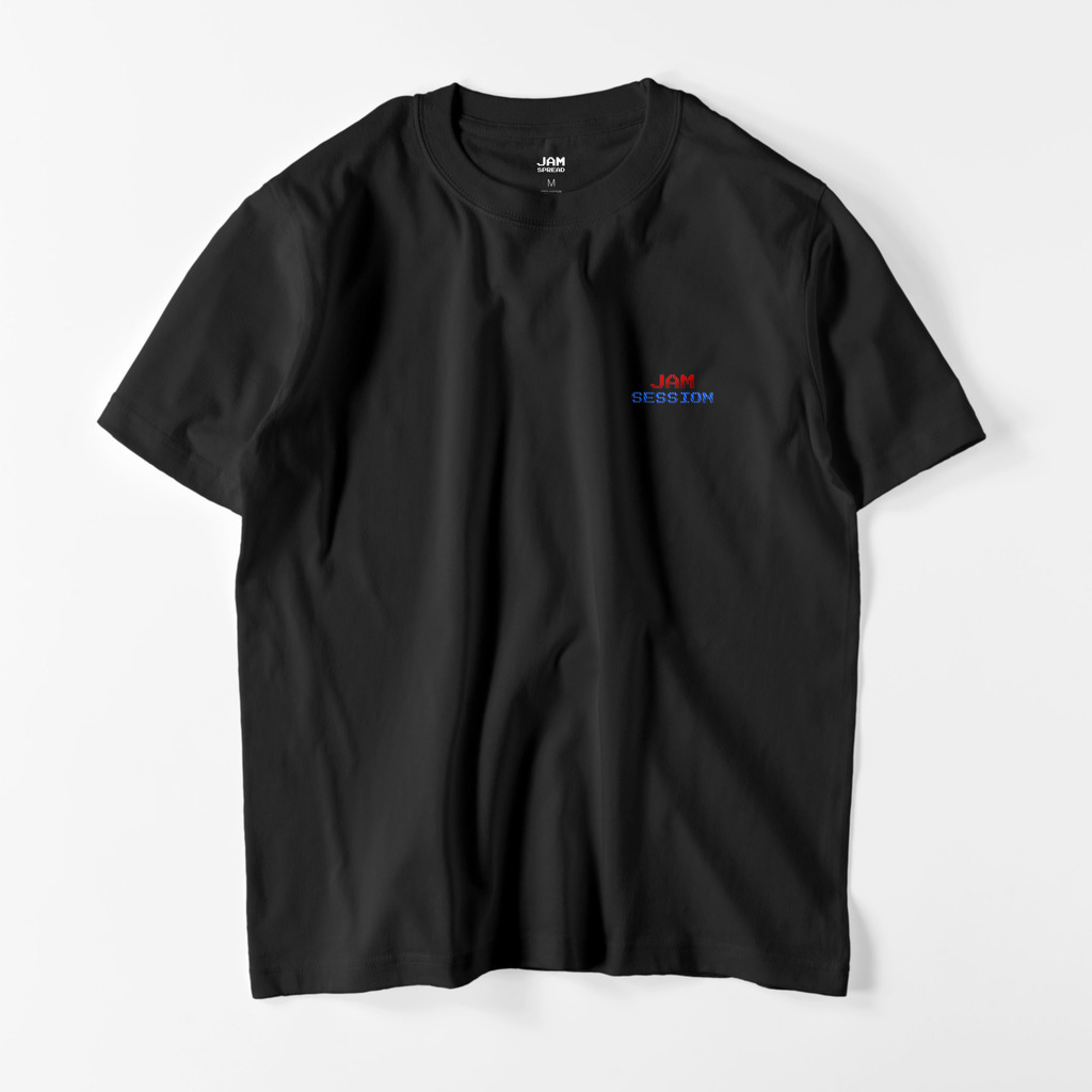 JAM SESSION EMBROIDERY T (BLACK)
