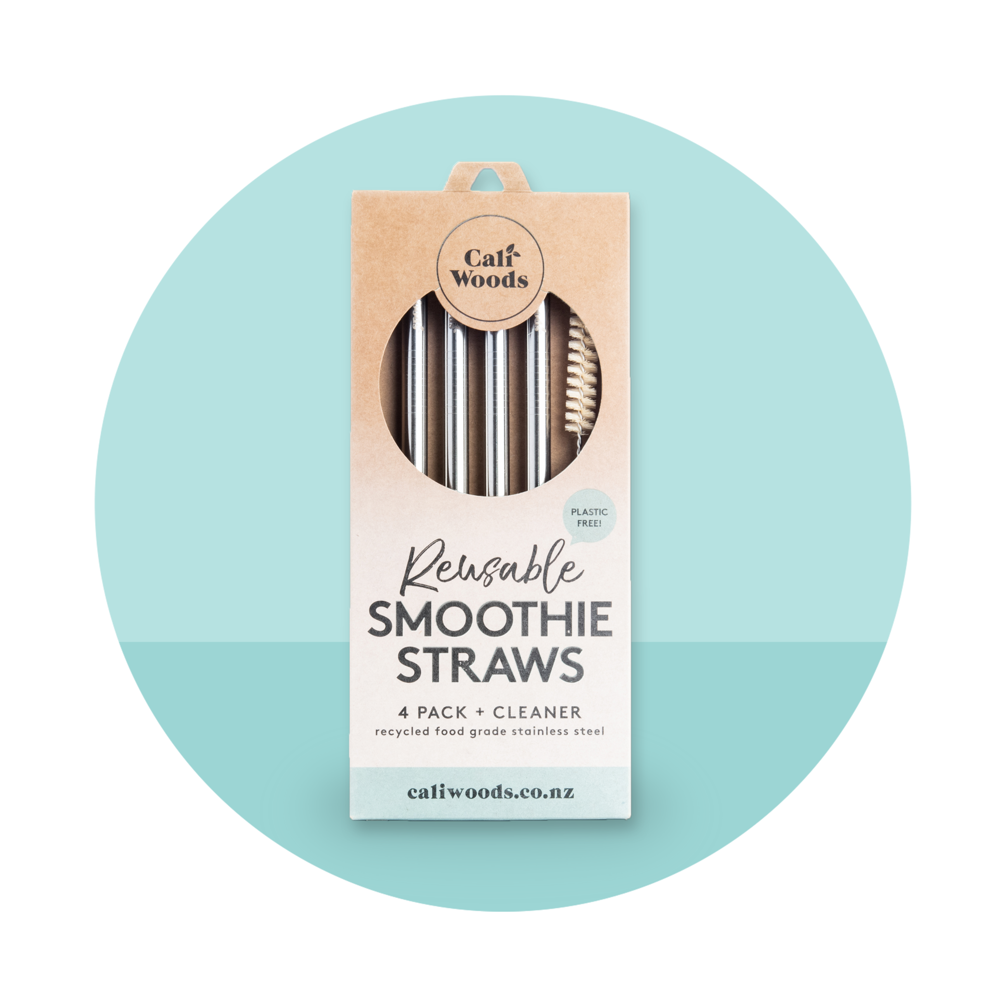 CaliWoods Smoothie Straw Packs
