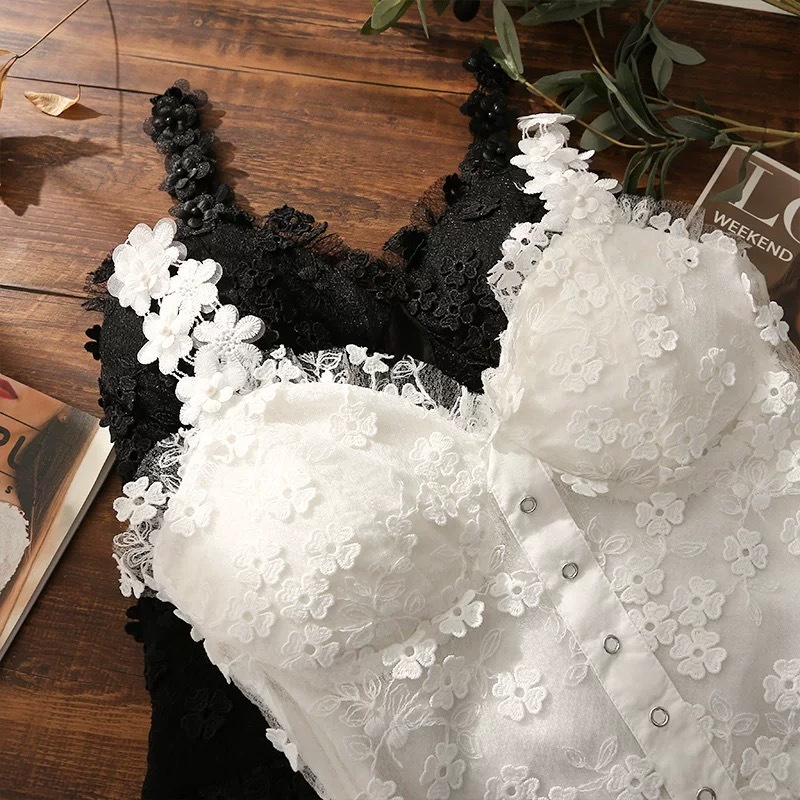 total flower lace camisole
