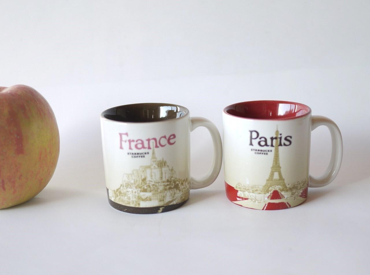 スターバックス フランス限定 パリ デミタスカップ エッフェル