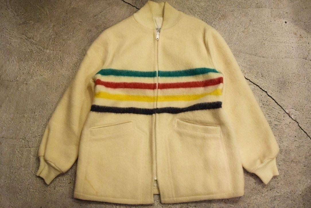 USED 美品 ハドソンベイ ウールジャケット