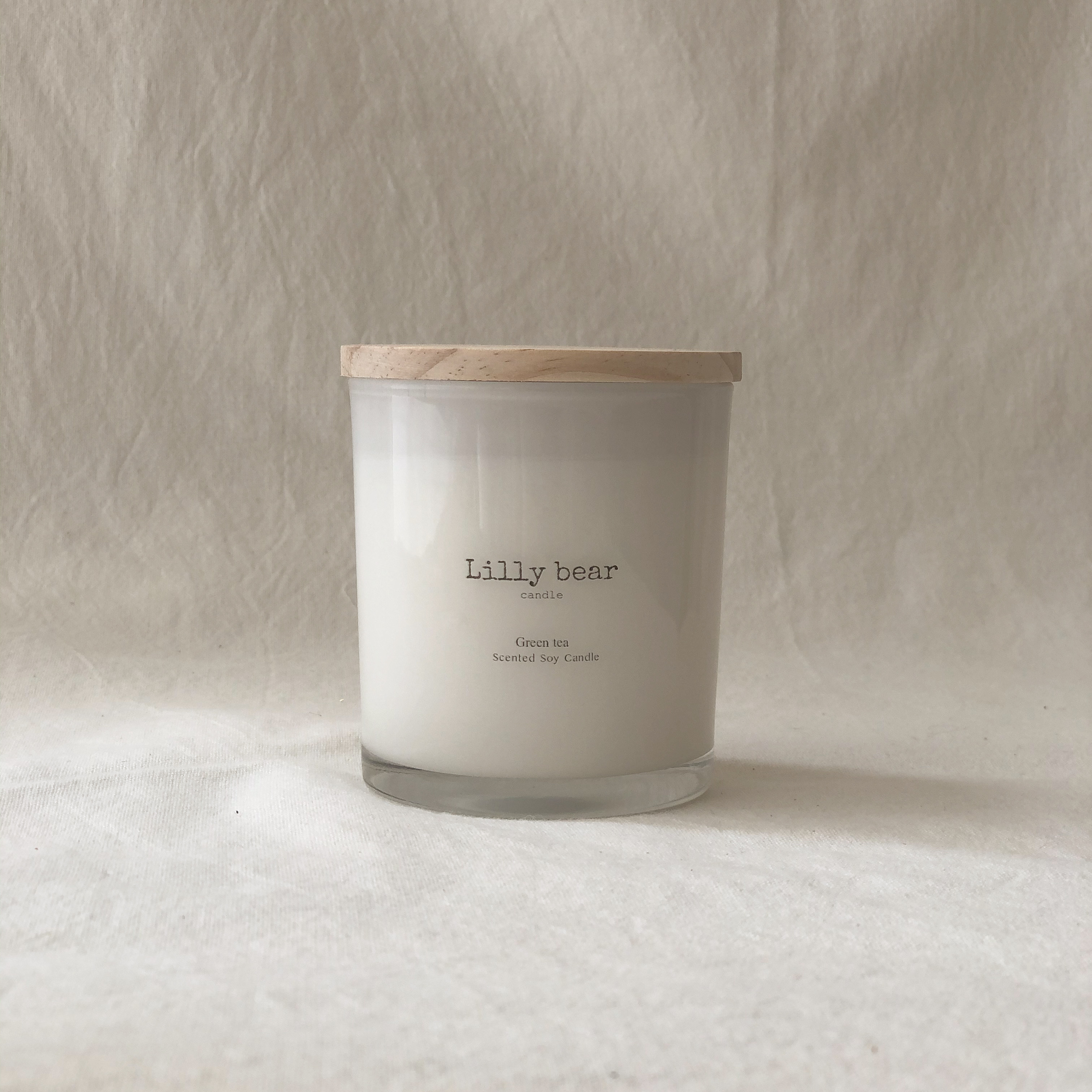 GREEN TEA/Classic soy candle