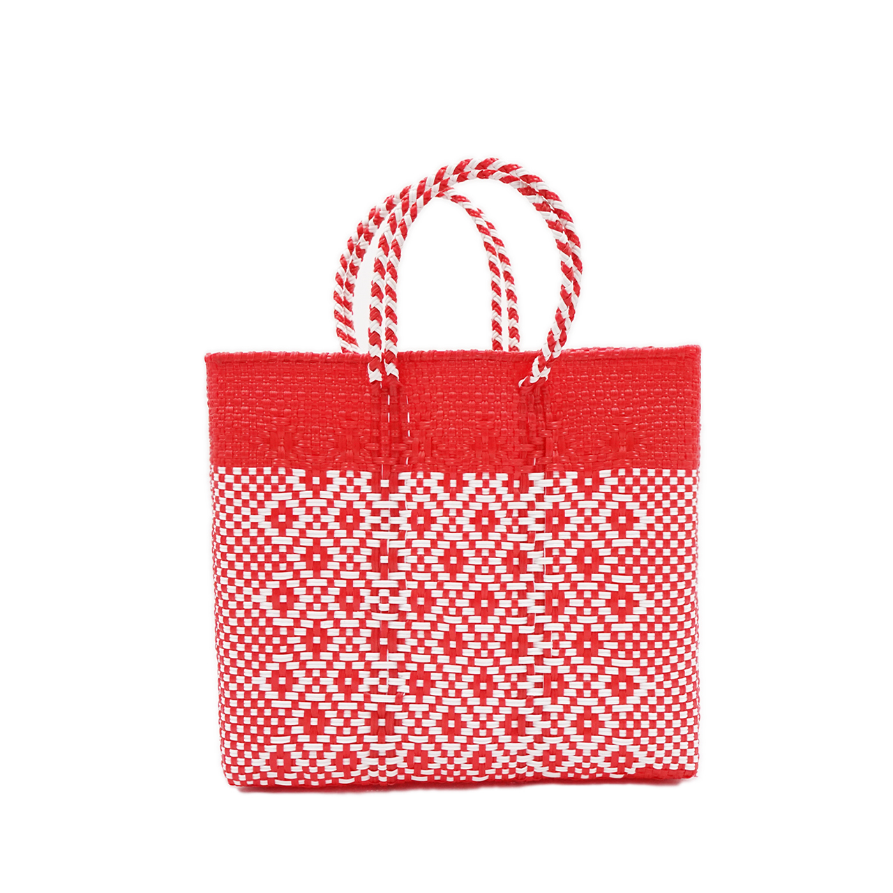 MERCADO BAG 2TONE - Red x Red (S)