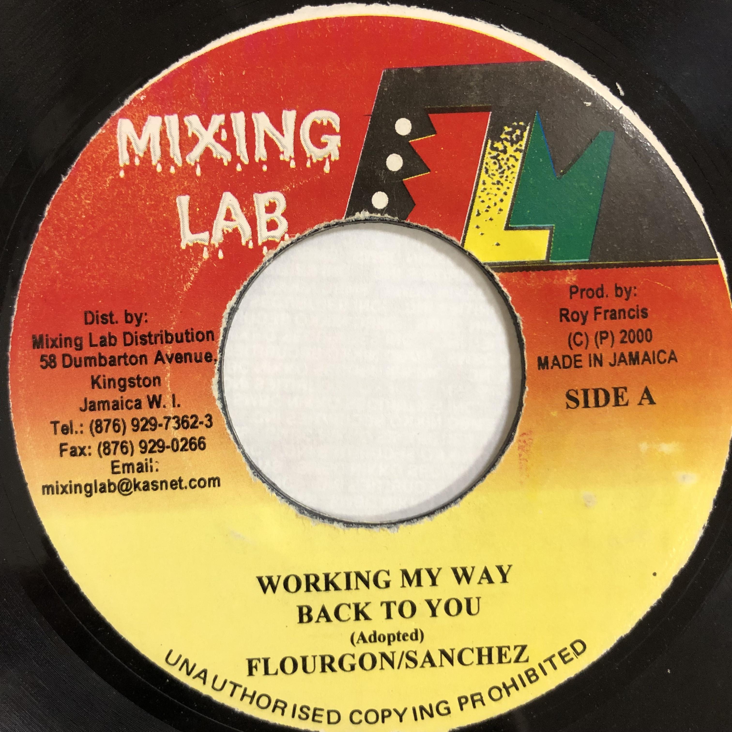 Sanchez, Flourgon - Working My Way Back To You【7-20160】