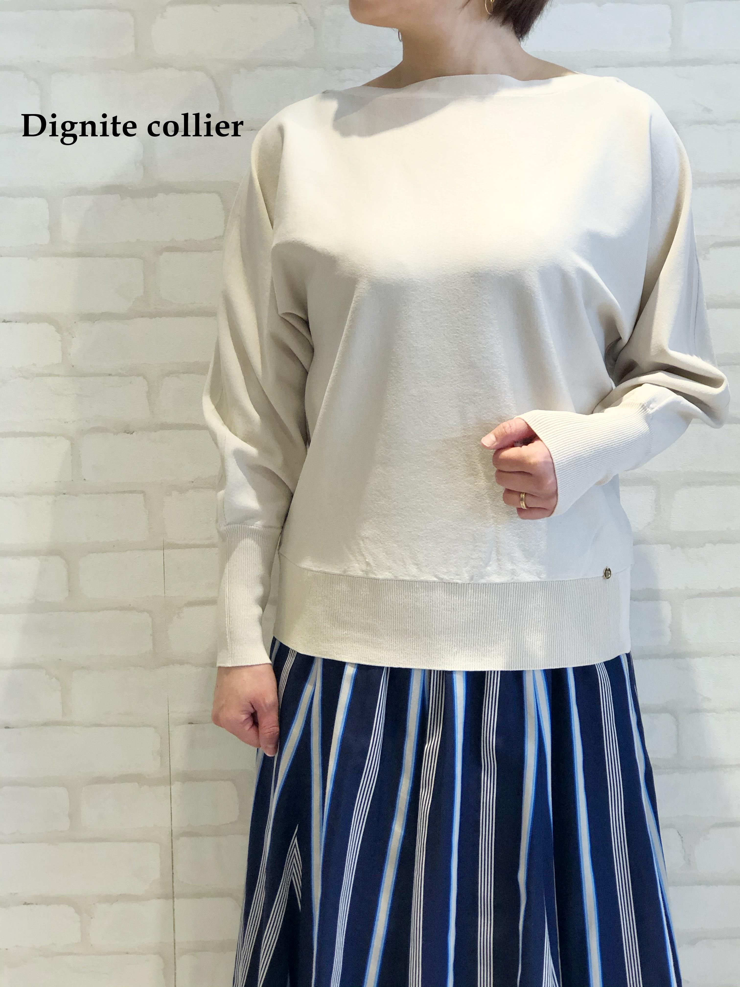 Dignite Collier/ウォッシャブルニット/801106