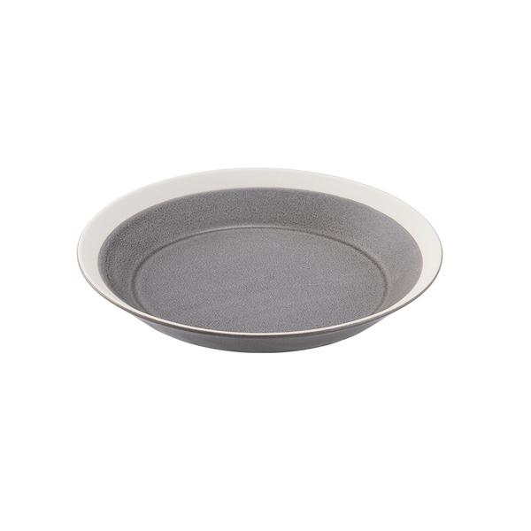 yumiko iihoshi porcelain Dishes プレート180 moss gray matte