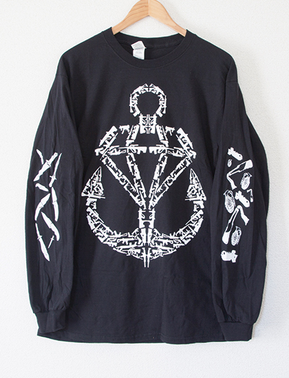 【STAY SICK CLOTHING】Weapons Long Sleeve (Black)
