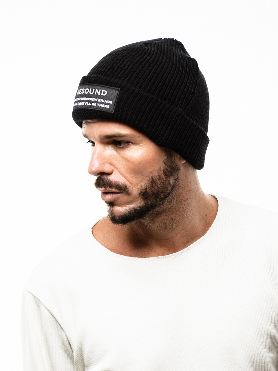 RESOUND CLOTHING (リサウンドクロージング) WOOL KNIT CAP / WAPPEN BK RC18-A-002-1
