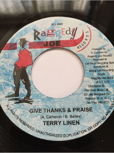 Terry Linen (テリーリネン) - Give Thanks & Praise【7'】