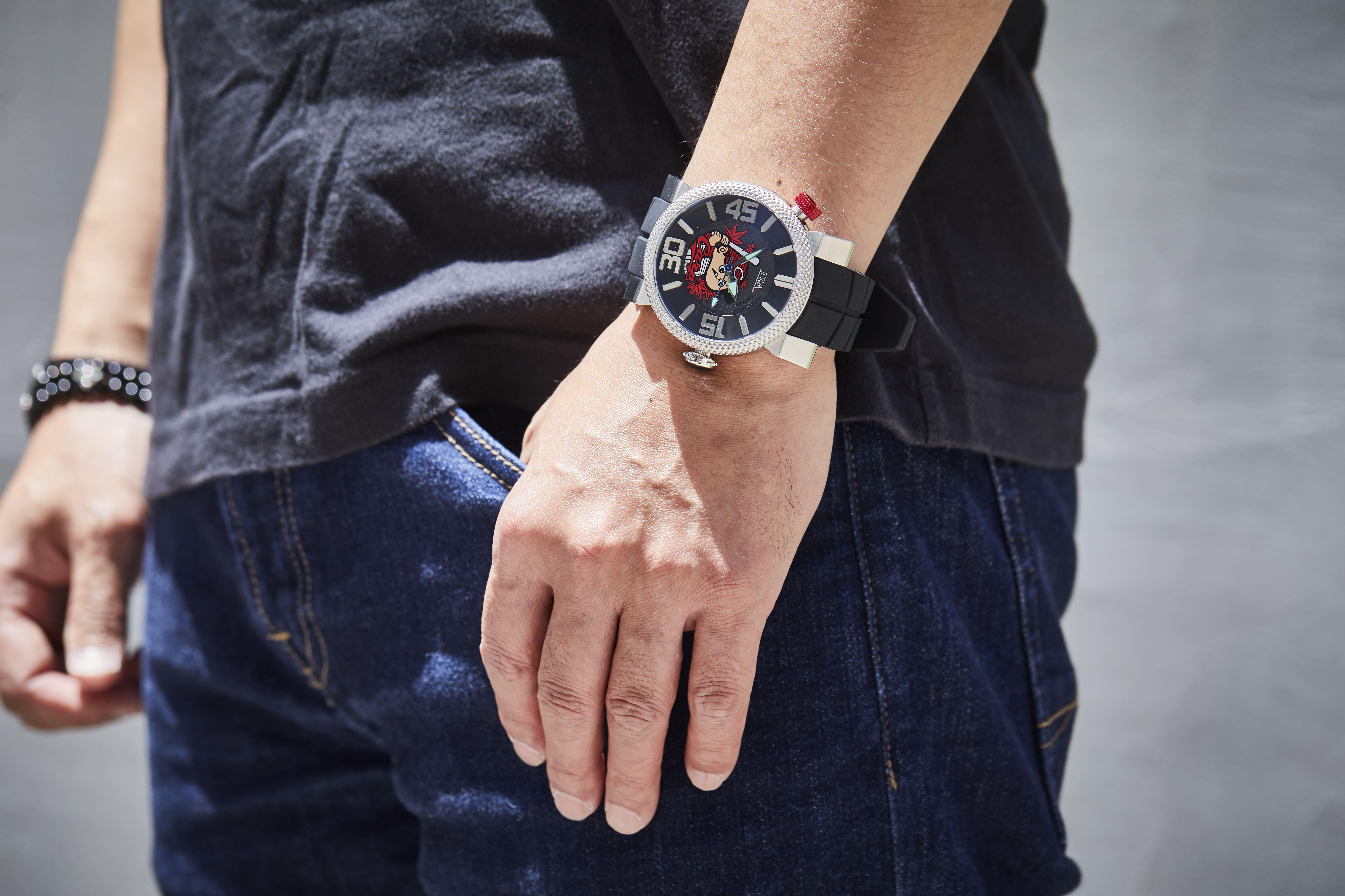 【広島東洋カープ】カープウォッチ第7弾 I.T.A.ピラータ(ブラック)/国内正規品 腕時計