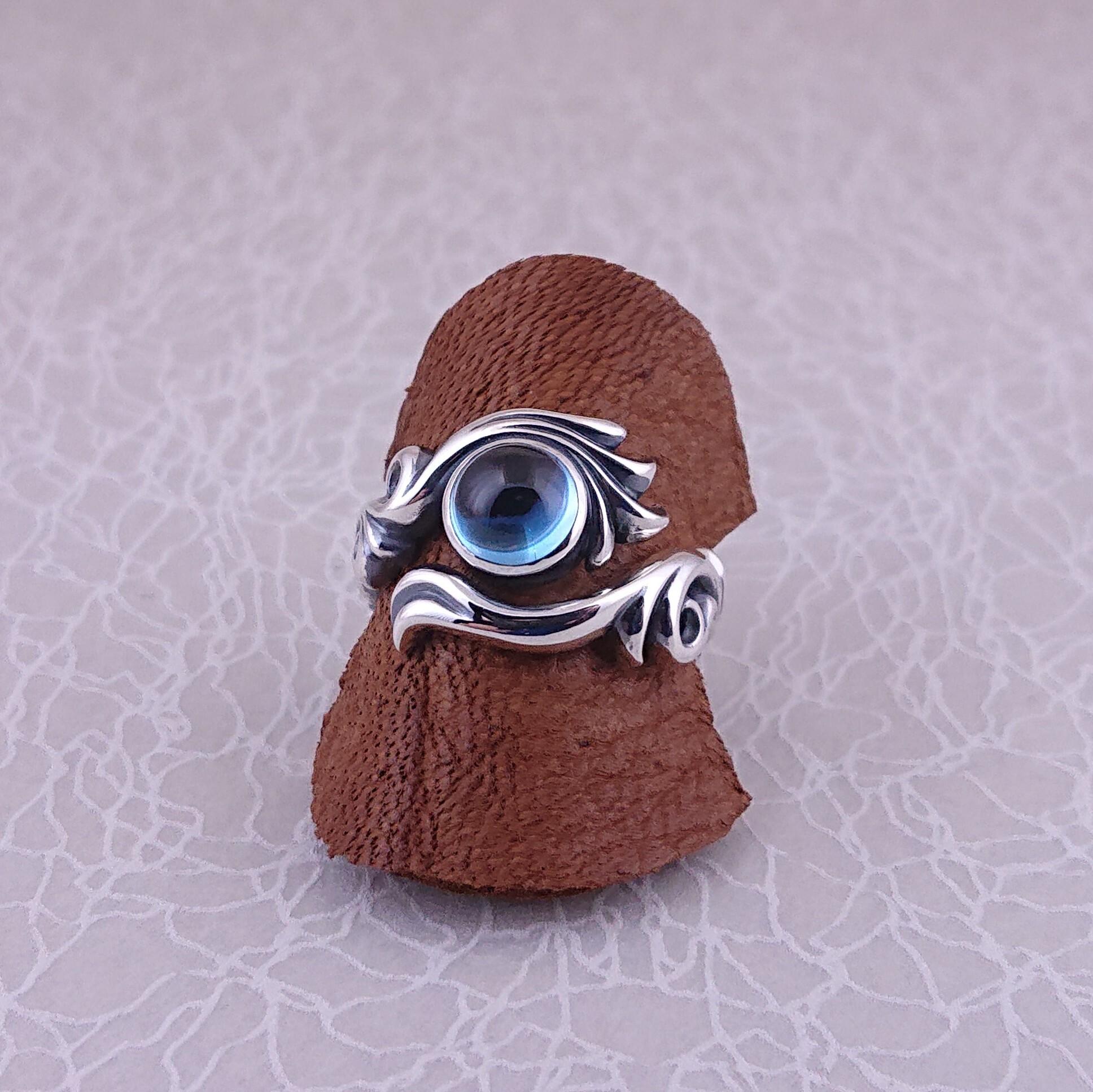 【魔導具】黄玉の瞳:カボション