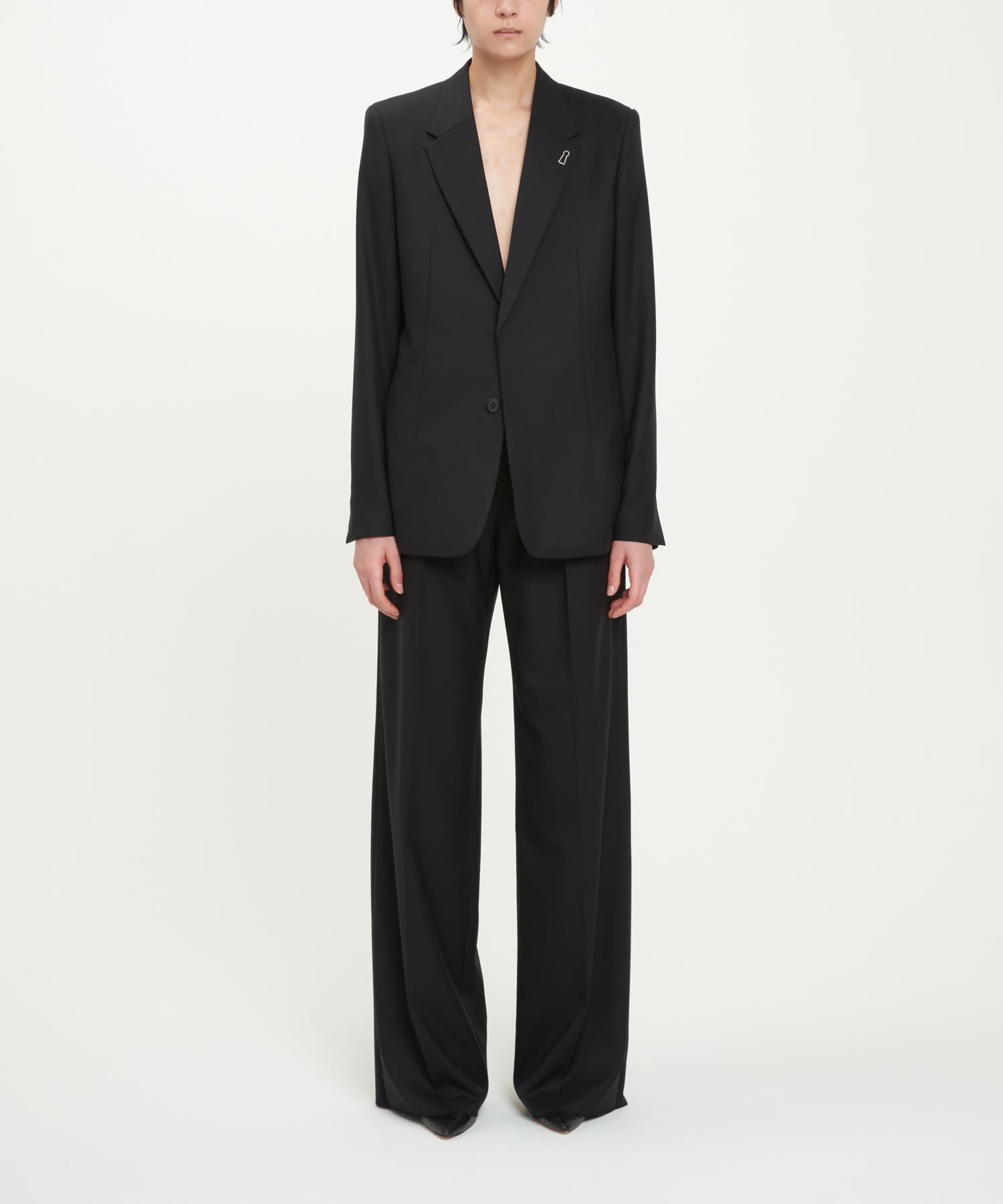 Black Minimalist Blazer