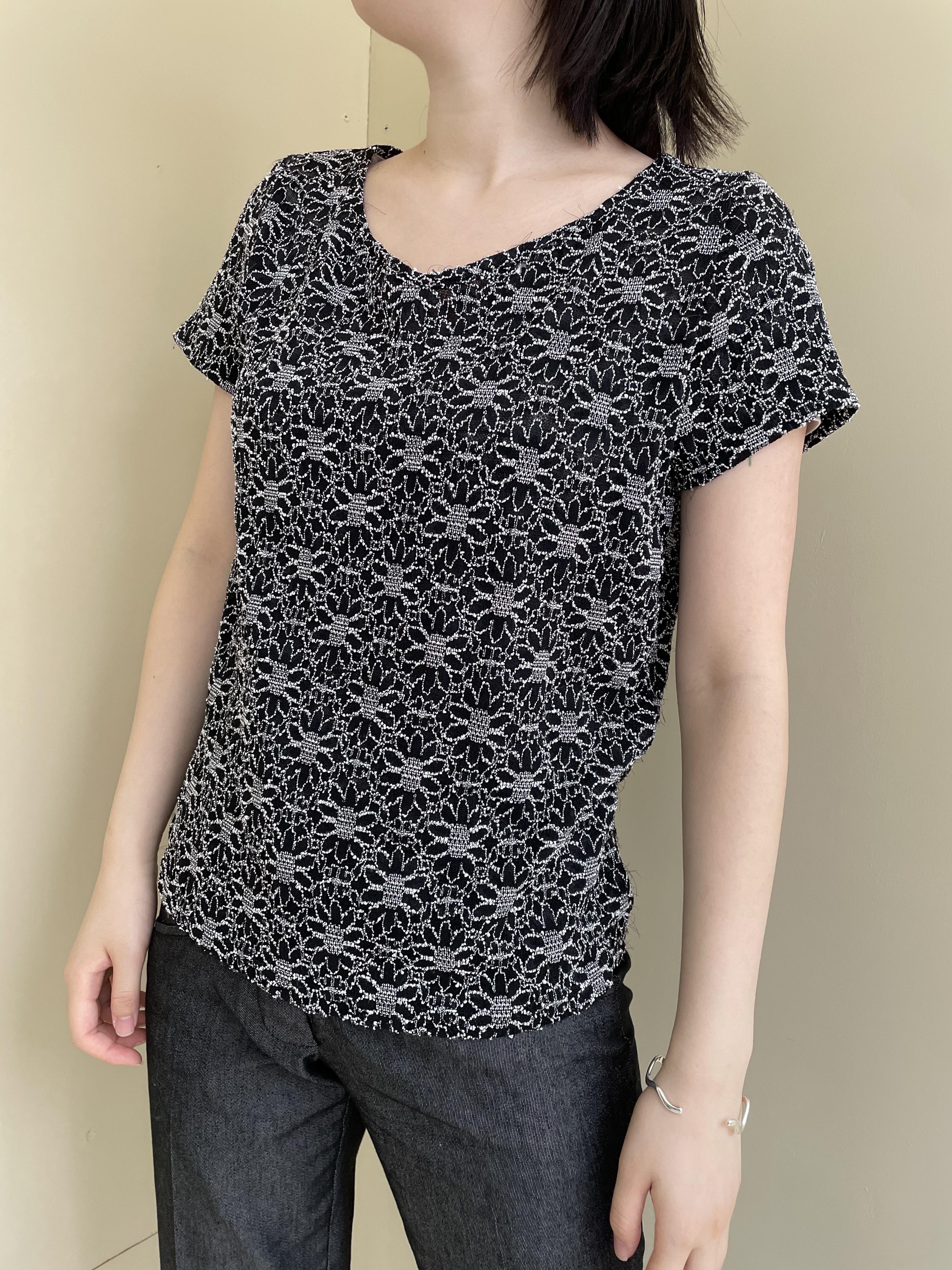 lace design tops / 7SSTP13-07