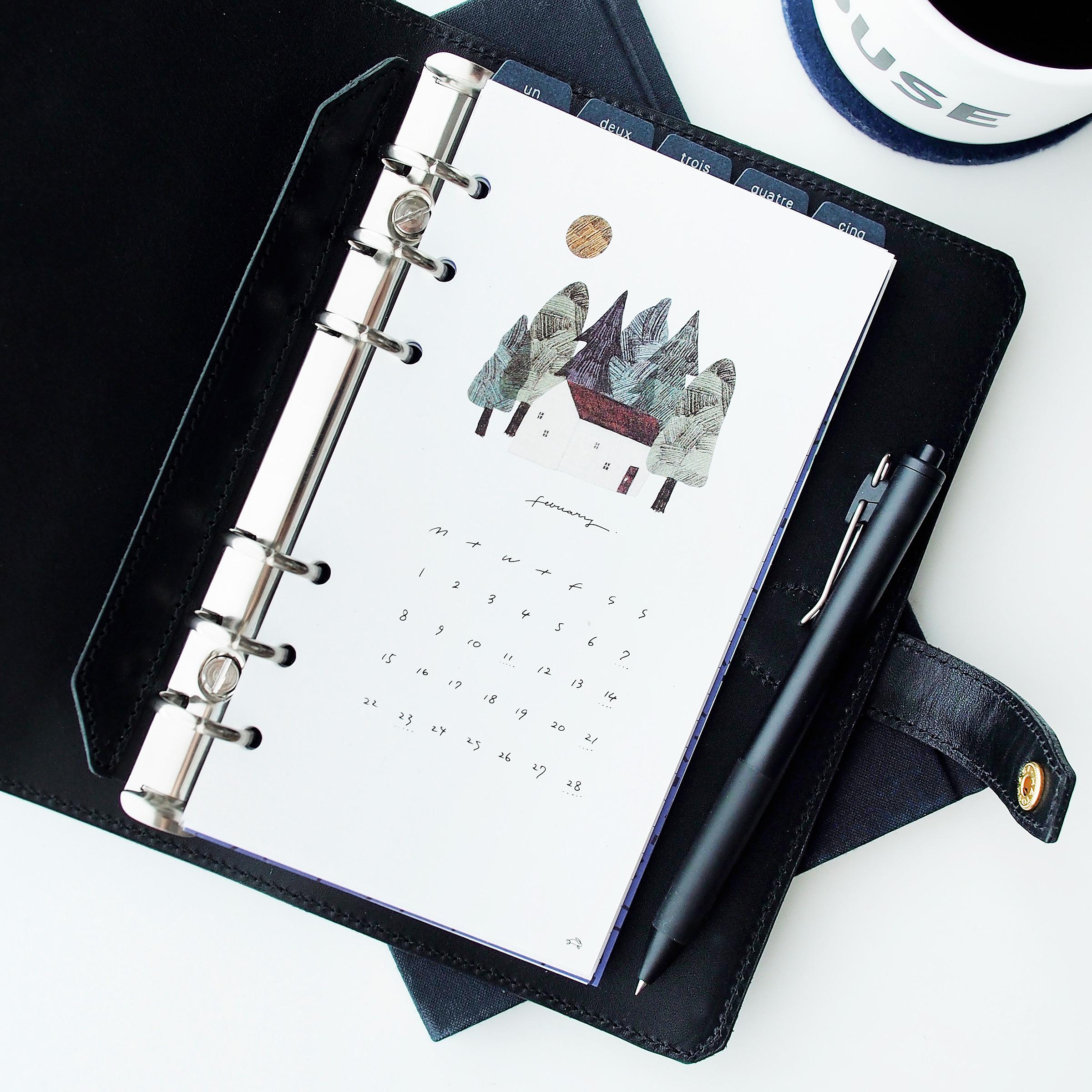 [バイブル]好日リフィル・カレンダー