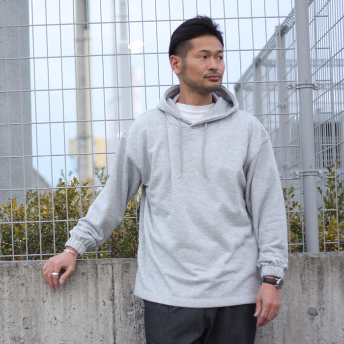FORTUNA HOMME/フォルトゥナオム ECOTEC FrenchTerryHoodie FHCT-0013