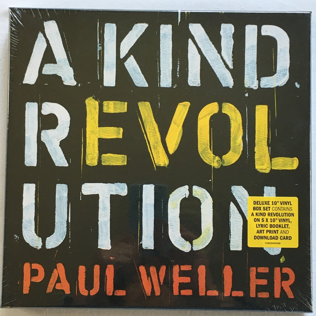 【10inch x 5・欧州盤】Paul Weller /   A KIND REVOLUTION Deluxe Edition