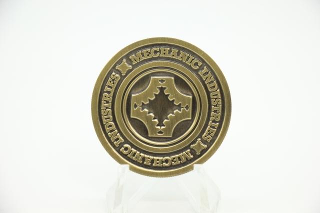 ポーカーチップスタイルコイン ワンダラー (Bronze)