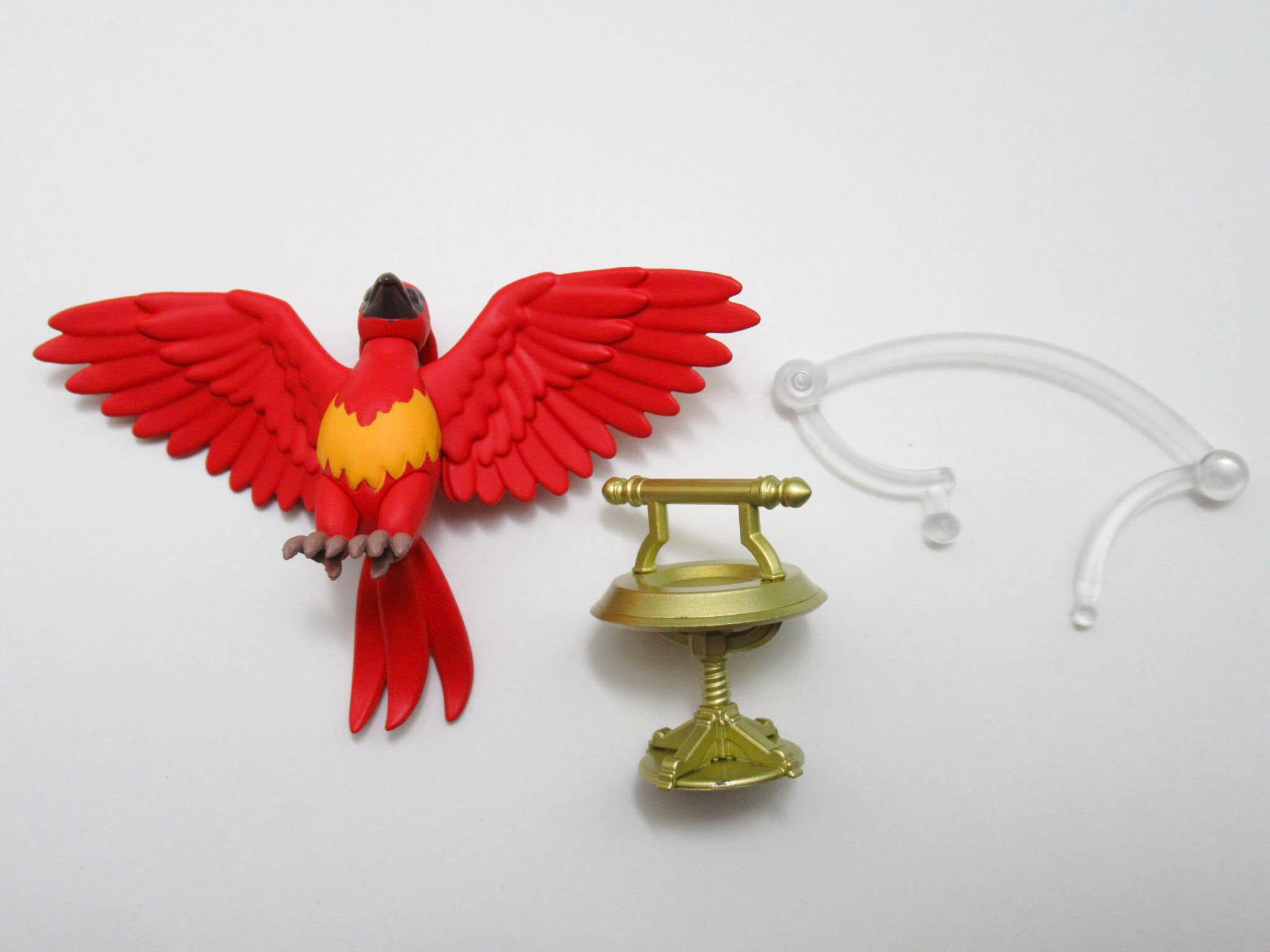 再入荷【1350】 アルバス・ダンブルドア 小物パーツ 不死鳥のフォークス ねんどろいど