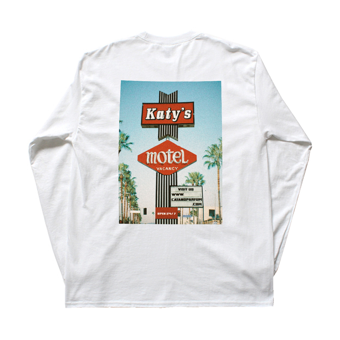 Katy's Motel Souvenir Long Sleeve