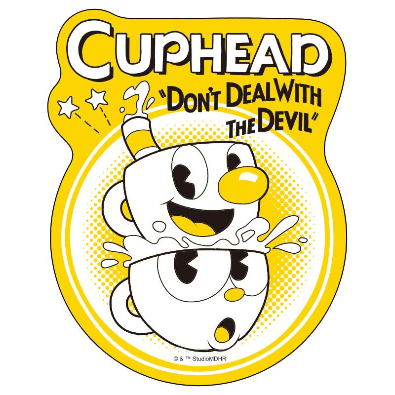 CUPHEAD ( カップヘッド )  トラベルステッカー (17)  / エンスカイ