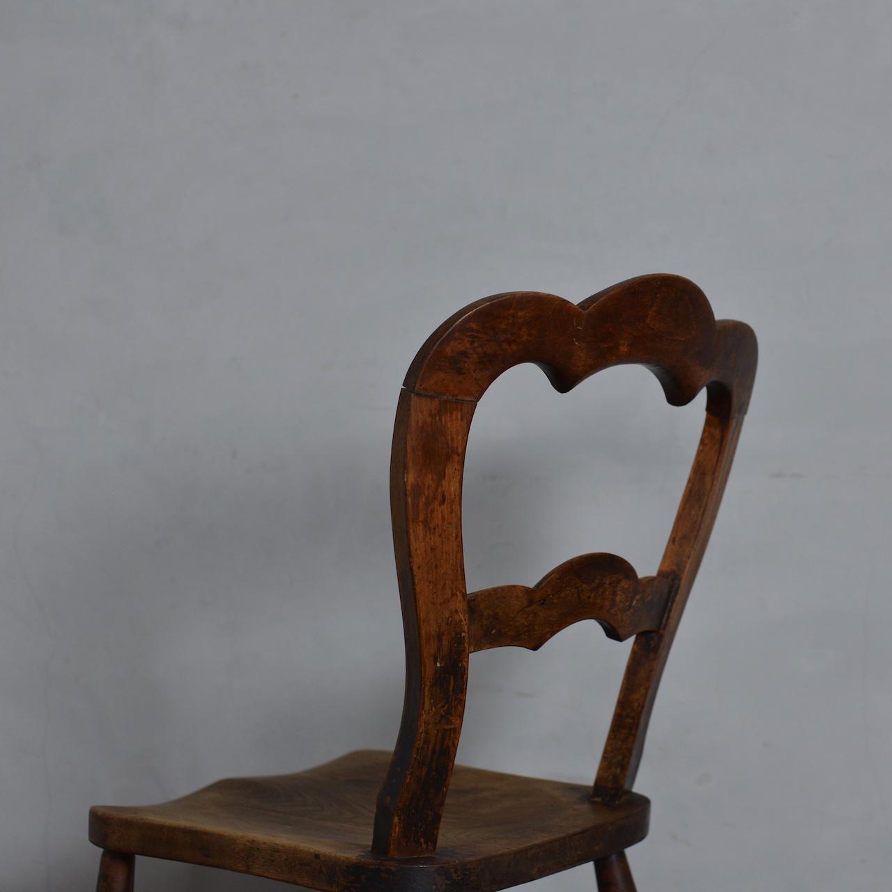 Balloon Back Kitchen Chair / バルーン バック キッチン チェア 【B】〈ダイニング チェア・椅子・カントリー〉