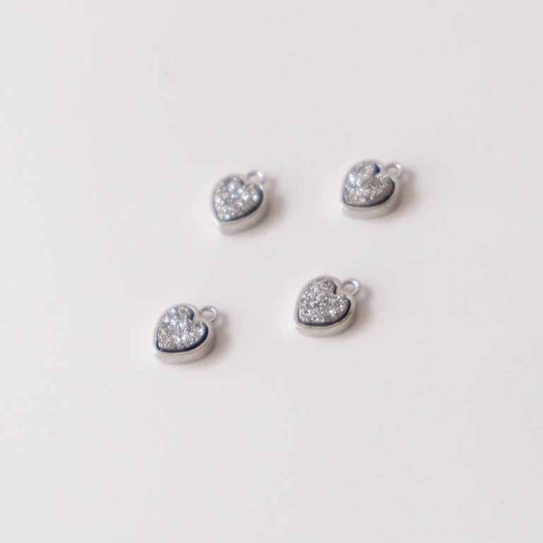 〖FieRté〗Druzy(Heart)~Silver~≪SV925≫