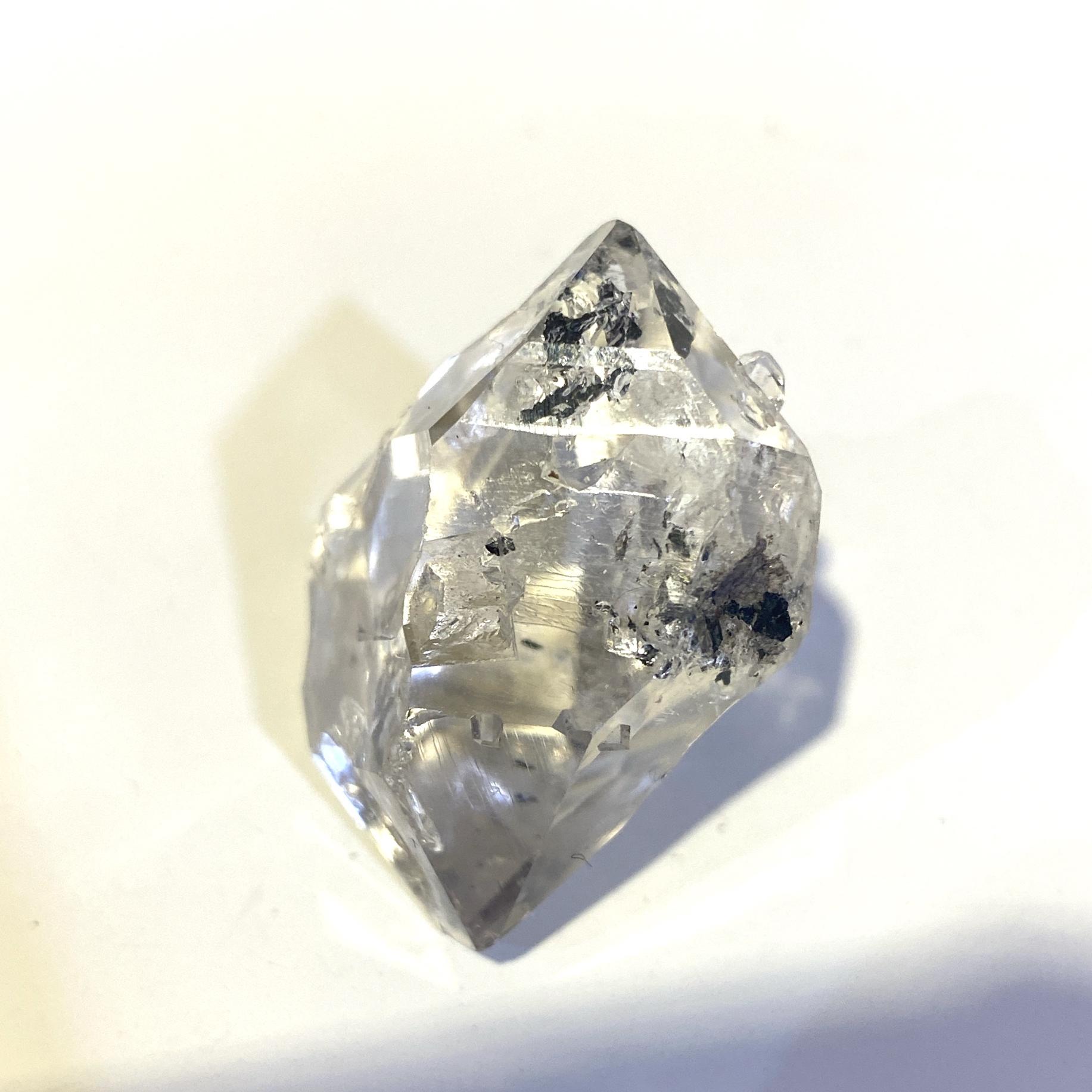 Diamond Quartz / ダイヤモンドクォーツ  一点もの エレスチャル 4月誕生石 鉱物 パワーストーン