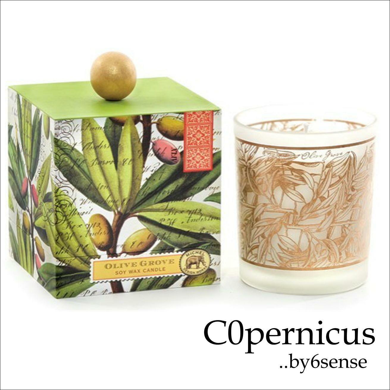 Oliveglove Michel Design Works アロマキャンドル ラージサイズ BOX付 ギフトにお勧め♪