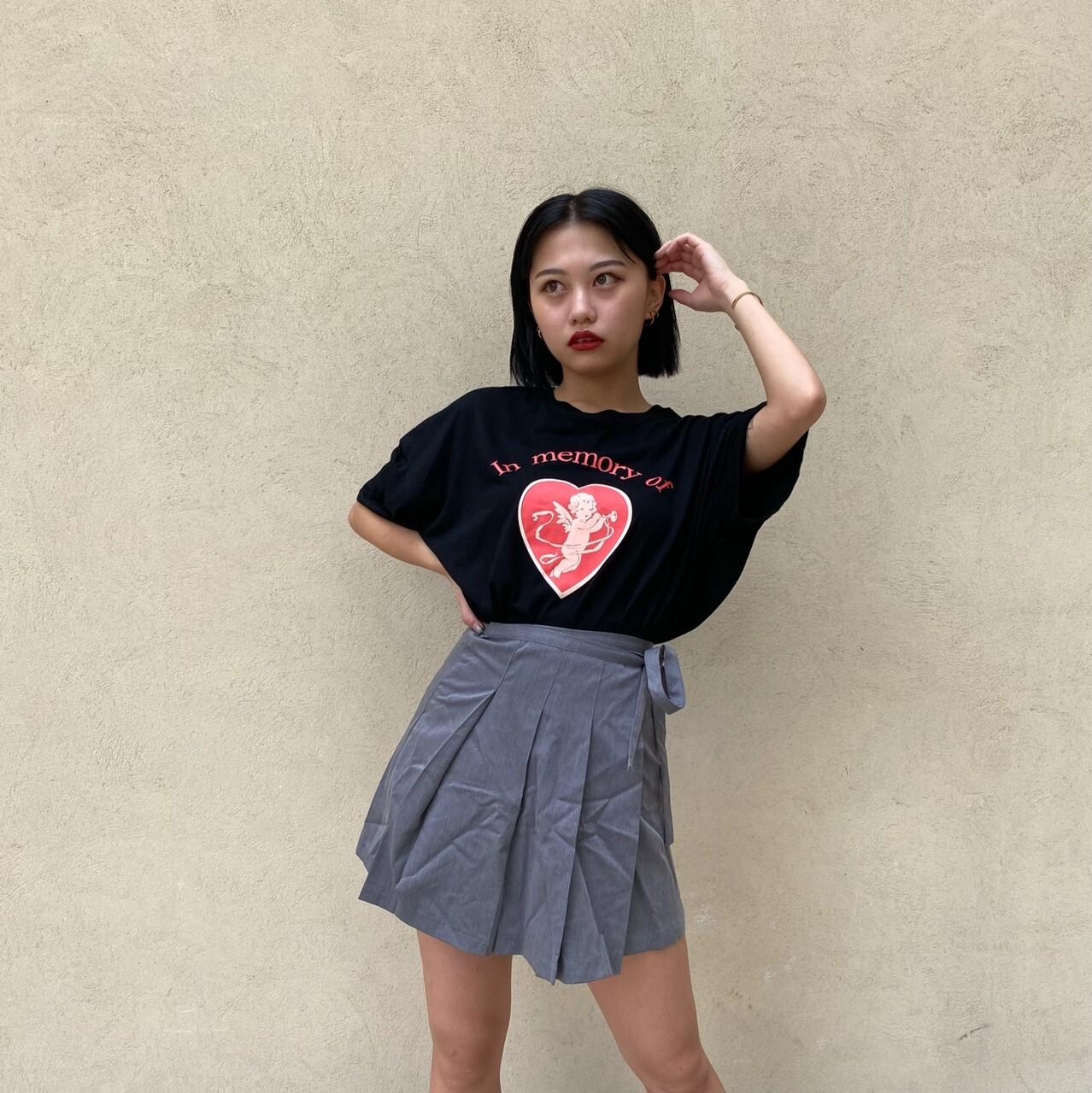 【Belle】cupid big T / black