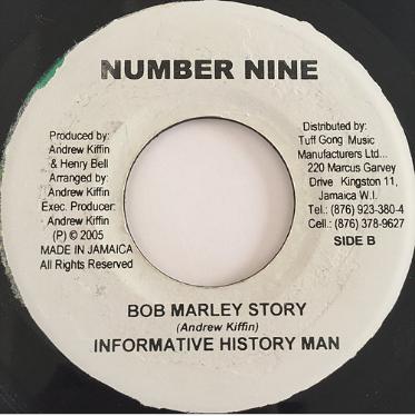 Informative History Man(インフォメーティブヒストリーマン) - Bob Marley Story【7'】