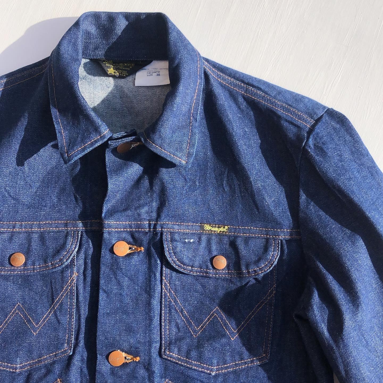 """USED """"80's Wrangler Denim Jacket"""""""