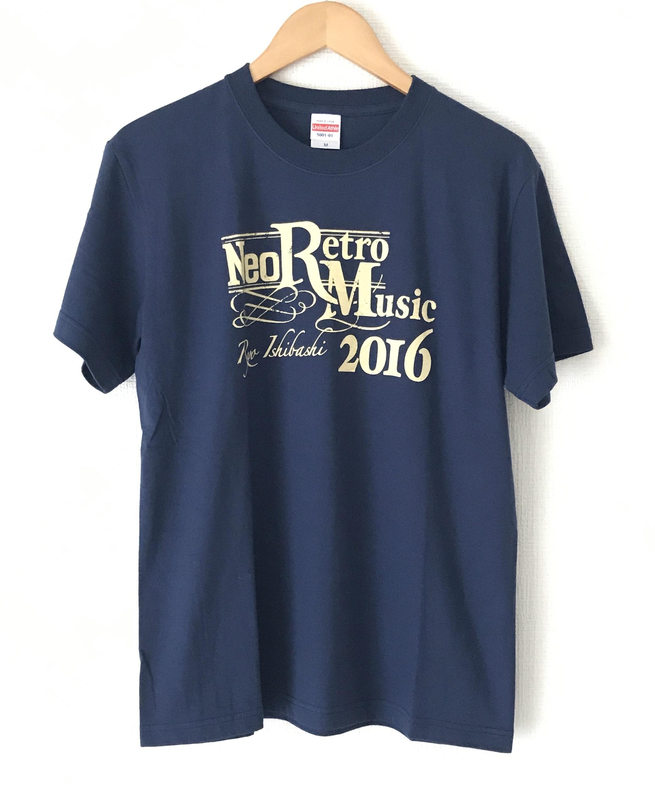 "LIVE TOUR ""Neo Retro Music 2016"" Tシャツ<インディゴブルー>"