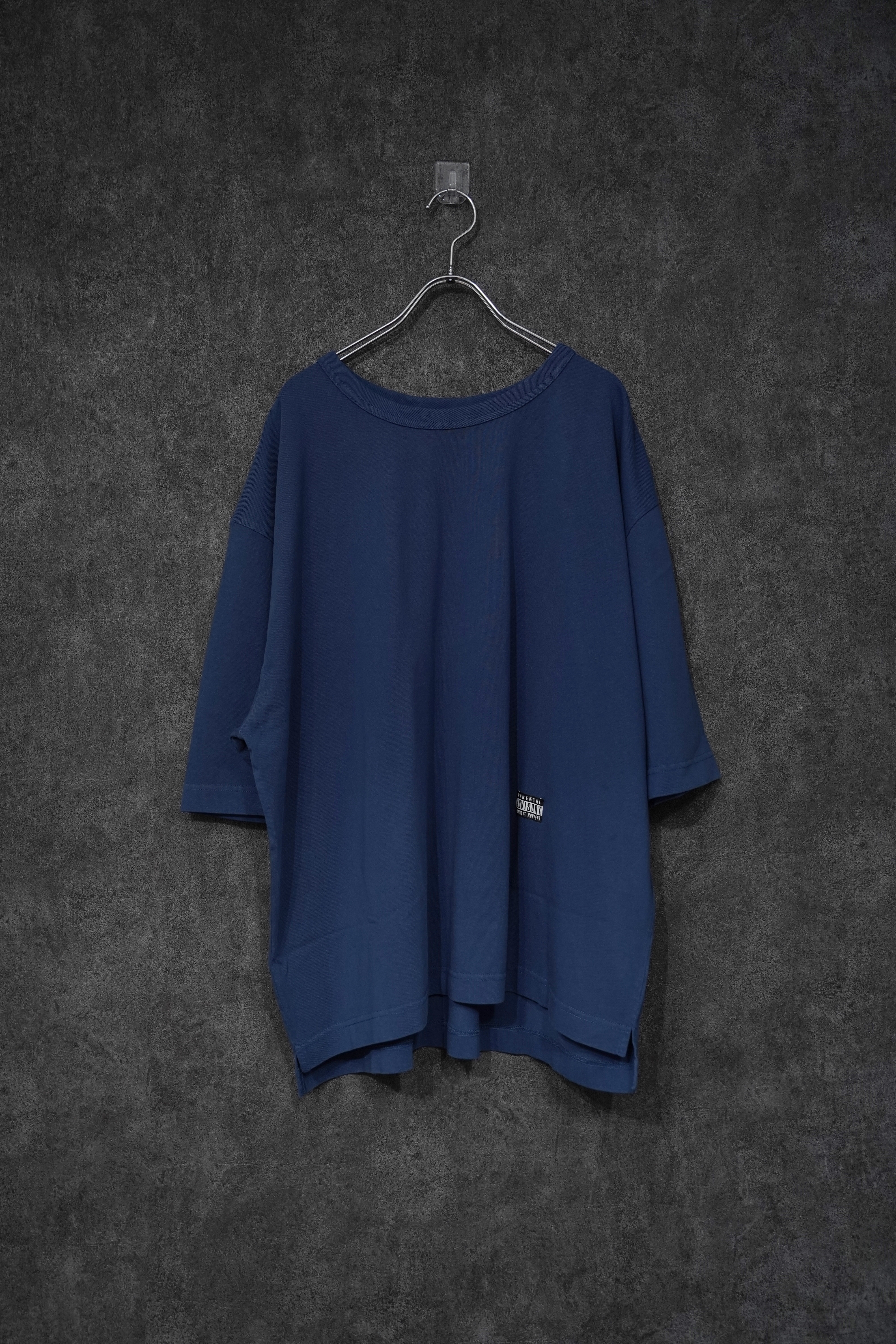 """PIGMENT OVER BIG T-SHIRT """"FRUIT OF THE LOOM"""" navy"""