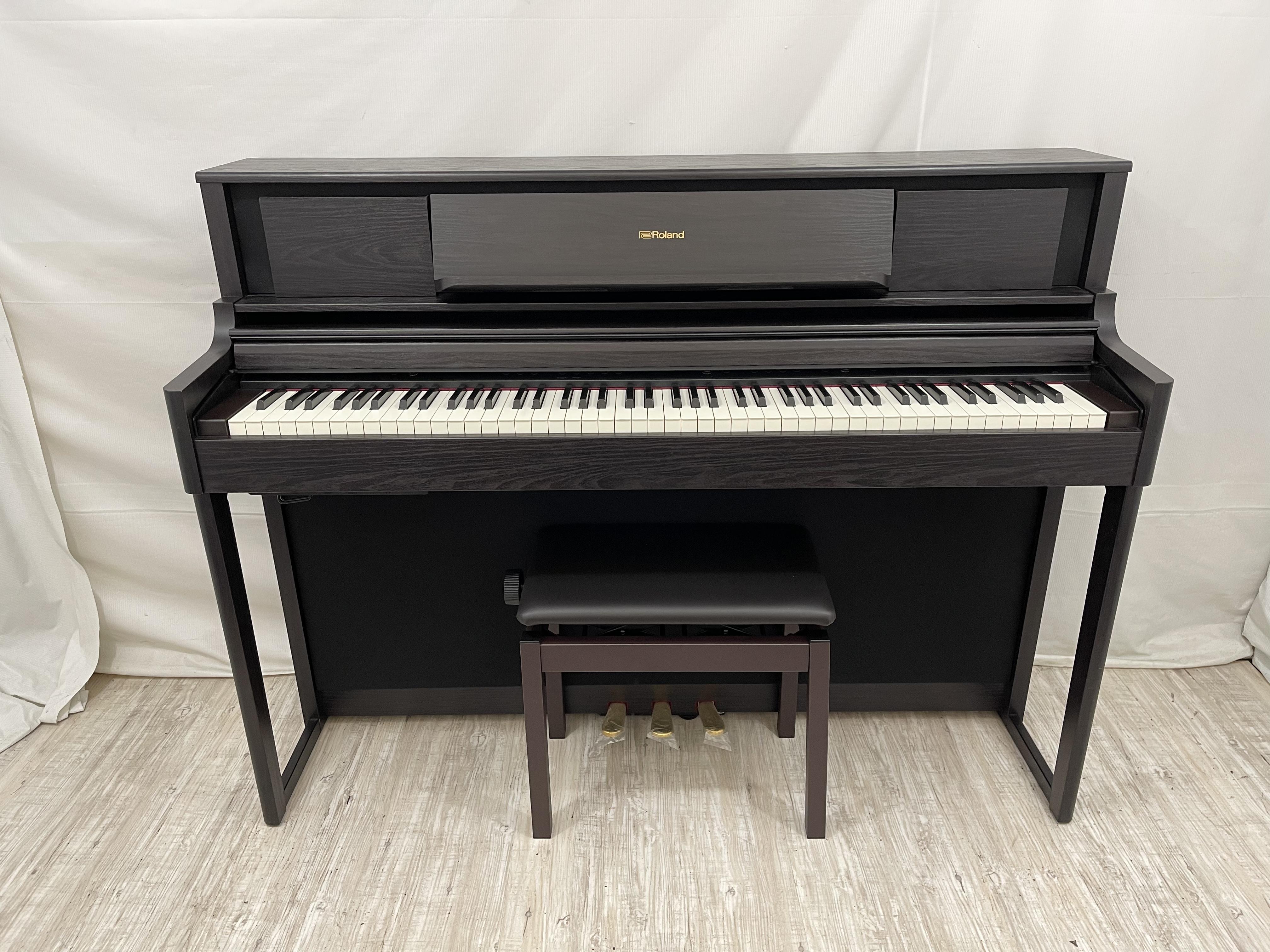 18593[中古電子ピアノ] ローランド LX705DR 2018年製