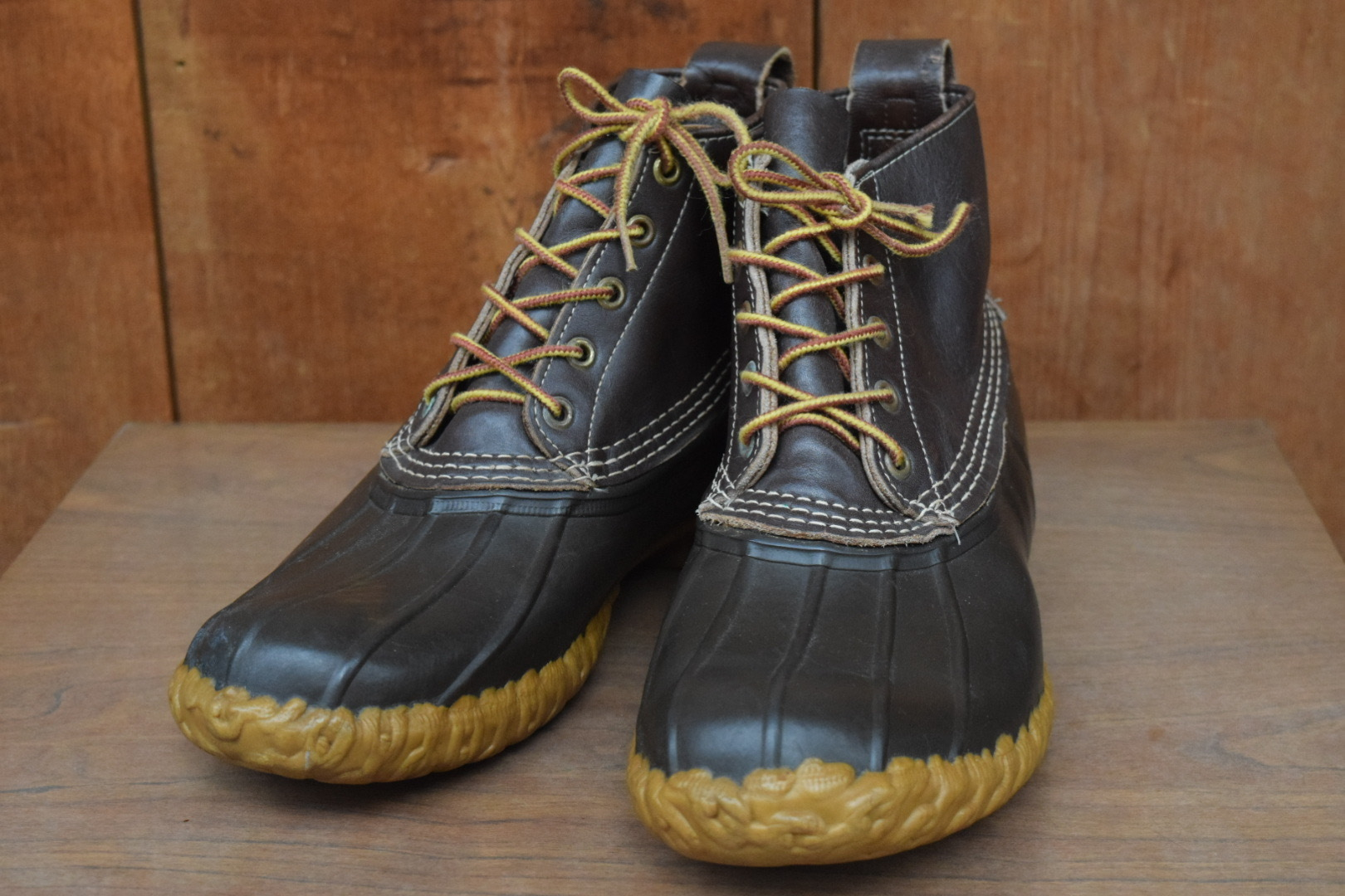 USED 80s L.L.bean Maine Hunting Shoe -9M 0859