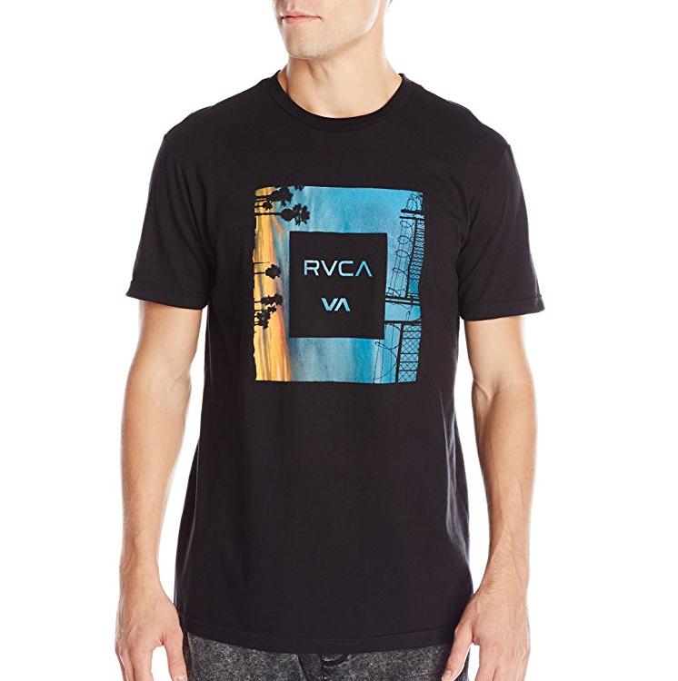 ルーカ RVCA Men's Skylines 2 Tシャツ